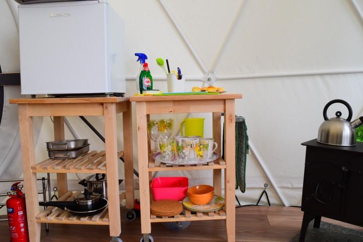 Kitchen Equipment in Geodome