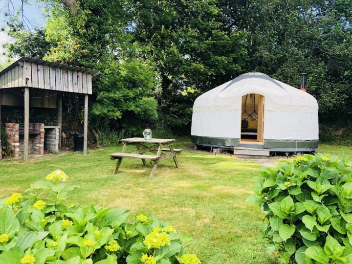 Outside Nare Yurt