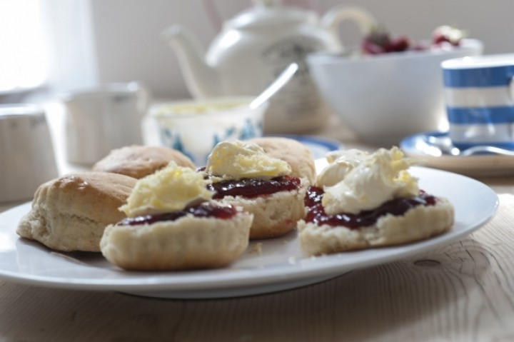 Cornish Cream Tea (Adam Gibbard)